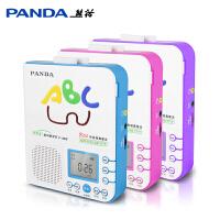 PANDA/熊猫 F-365英语复读机随身听磁带机播放机初中小学生儿童放磁带的录音机U盘mp3插卡可充电正品播放器