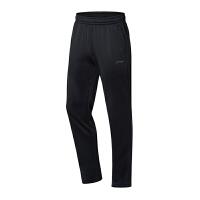李宁(LI-NING)男子运动休闲长裤弹力直筒卫裤羽毛球服柔软舒适
