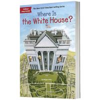 白宫在哪里 英文原版 Where Is the White House? 英文版儿童桥梁章节书 Megan Stine