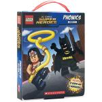 乐高DC英雄自然拼读12册 儿童英文原版绘本 phonics教材英文版 Lego DC Super Heroes Ph