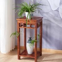 花架木木盆景架实木长方形置物架中式鱼缸架工艺品架