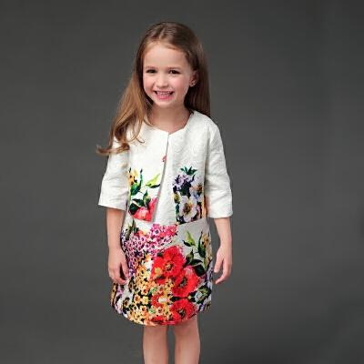 2018秋冬女童新款两件套装小香风A字裙儿童宝宝短外套亲子母女装 发货周期:一般在付款后2-90天左右发货,具体发货时间请以与客服协商的时间为准