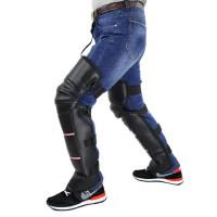 摩托车护膝电动车保暖护膝电瓶车男女护腿防寒骑车护膝挡风护具