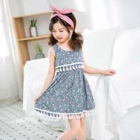 宝宝连衣裙6岁半3女童潮公主2小孩衣服夏装5周岁4女孩夏天穿8
