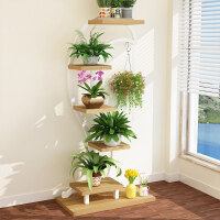 创意铁艺多层花架绿萝吊兰台多层多肉花架子客厅室内落地花盆架