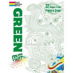 COLORTWIST -- Green Coloring Book