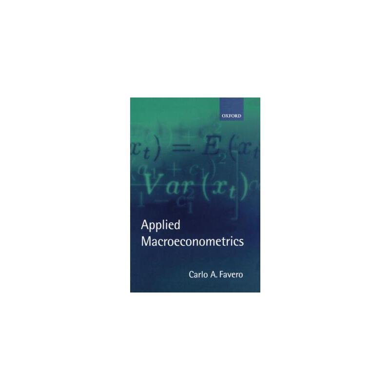 【预订】Applied Macroeconometrics 预订商品,需要1-3个月发货,非质量问题不接受退换货。