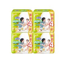 [当当自营]安儿乐 超能吸(棉柔干爽)婴儿纸尿裤(金装2代)加量装L20+4 x4包(适合体重9kg -14kg)