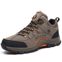 棉鞋男冬季保暖加绒休闲运动户外鞋加厚防滑雪地靴男士旅游登山鞋