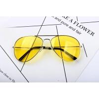 2018新款gd权志龙TOP同款太阳镜海洋黄色网红女款眼镜近视墨镜男