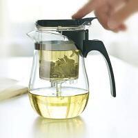 花茶壶飘逸杯500ml过滤内胆茶壶套装茶具 功夫茶具可拆洗内胆泡茶杯水杯茶壶办公杯茶壶
