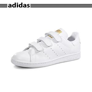 正品ADIDAS阿迪达斯STAN SMITH CF史密斯魔术贴男女小白鞋S75188