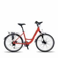 欧狼单车旅行车自行车炫影-1 21速铝肩避震前叉前后机械 减震山地车男女变速自行车学生单车