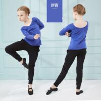 儿童舞蹈服装 女童长袖幼儿练功服少儿舞蹈分体套装