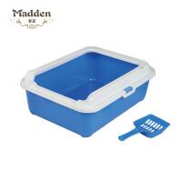 麦豆(Madden)宠物猫砂盆猫厕所半封闭式用品 1804020