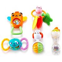 [当当自营]Auby 澳贝 摇铃系列 5只盒装摇铃 婴儿玩具 463124