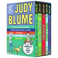 Judy Blume's Fudge Box Set 英文原版 朱迪布鲁姆法吉系列故事5本礼盒装 全英文版美国进口儿童幽
