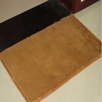 可水洗顺滑丝毛40*60防滑地垫 浴室地垫 门垫 卧室床前地毯颜色随机