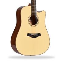初学者学生男女新手入门吉它乐器电箱民谣吉他41寸40木吉他