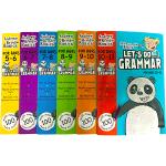 正版现货 英国小学英语语法练习册6本套装 英文原版小学教材 Let's Do Grammar 5-11岁1-2-3-4