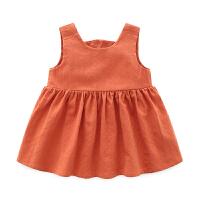 吊带裙子 女 0-1岁新生儿夏装夏季群 婴儿裙子 女宝宝裙子夏季薄