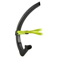 游泳呼吸器 游泳潜水竞技专用 游泳训练呼吸管 自由泳水下呼吸器 CX 款 Black/Neon