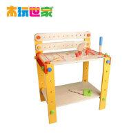 木玩世家 大型工作台 儿童大型拆装玩具 益智拆装组合玩具 BH3307