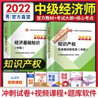 备考2021 中级经济师教材 知识产权 2020经济师中级 经济基础知识 知识产权专业知识与实务 教材2本套 经济师教材