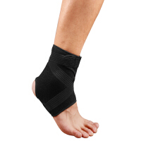 护踝扭伤防护男女士篮球足球脚腕健身运动跑步护脚踝护具M码一只装右足