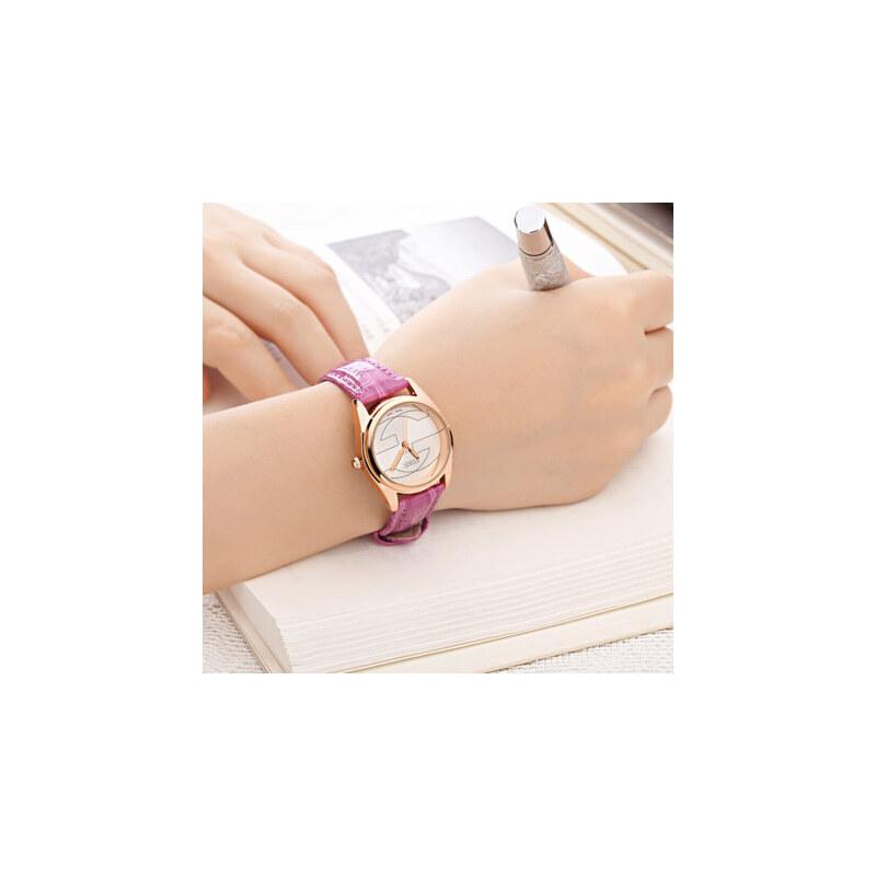 夜光韩版女表皮带时尚潮流简约学生防水手表女孩时装石英女士手表