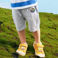 【3件3折到手价:46】小猪班纳童装男童裤子宝宝短裤儿童夏装2020新款休闲运动裤百搭