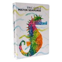 Mister Seahorse 海马先生 Eric Carle艾瑞・卡尔爷爷的经典绘本 纸板书 送音频