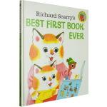 Richard Scarry's Best First Book Ever 斯凯瑞第一本词汇书 儿童英文单词学习