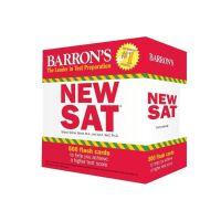 Barron's NEW SAT Flash Cards, 3rd Edition: 500 Flash Cards t