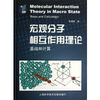 宏观分子相互作用理论(基础和计算)(精)
