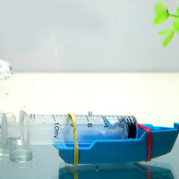 儿童科学实验小玩具 科技小制作材料潜水艇玩具船小发明