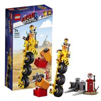 【当当自营】乐高LEGO 乐高大电影2 70823 艾米特的三轮自行车