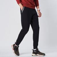 【低价直降,2件折上再打9折】361度男士运动针织裤舒适健身运动裤