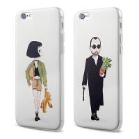 【全国包邮】hidog 苹果6plus手机壳5.5情侣卡通软外壳iPhone6splus保护套硅胶