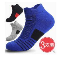 户外运动 篮球袜跑步毛巾底短袜子中长筒 专业马拉松运动袜男女 登山短袜
