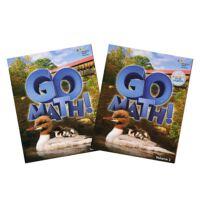 Go Math! Student Edition Set (StA) Grade 2 ?2vols,Go Math!