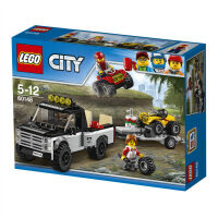 【当当自营】乐高(LEGO)积木 城市组City 玩具礼物 全地形车赛车队 60148
