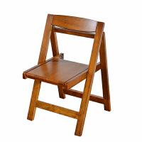 实木折叠椅餐椅小户型家用凳子纯实木收纳椅子