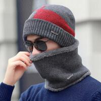 帽子男士冬天潮加绒加厚秋冬季针织帽防风棉帽保暖防寒骑车毛线帽新品