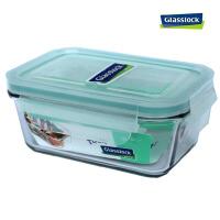 GlassLock 三光云彩钢化耐热玻璃保鲜盒OCRT-097 970ML 微波炉饭盒玻璃盒