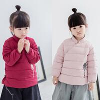 中国风 女童汉服棉衣 2016冬装新款儿童夹棉唐装保暖棉袄外套