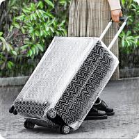 行李箱套 透明防水加厚耐磨旅行箱防尘罩袋子24/28寸拉杆箱保护套