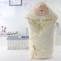 婴儿包春秋加厚宝宝手提被子宝宝婴儿奶瓶保温外出包被初生春秋透气行包手提包防水加厚 D 厚款黄胆