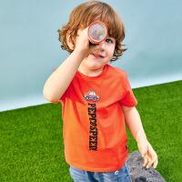 【3件3折到手价:34】小猪班纳童装儿童T恤宝宝短袖男童上衣2020夏装新款洋气休闲体恤