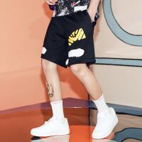 短裤男潮牌夏天男生韩版街头潮流青少年百搭欧美风学生嘻哈五分裤